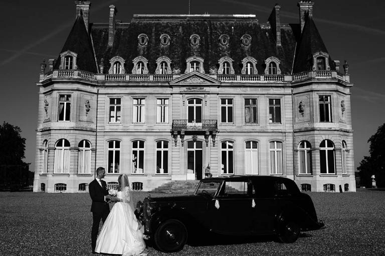 Photo de couple au Château de Dangu
