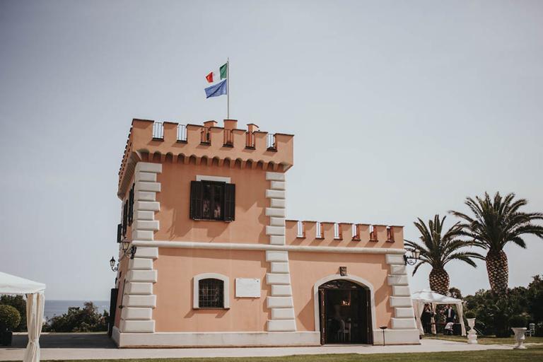 Il Castello Borghese à Nettuno