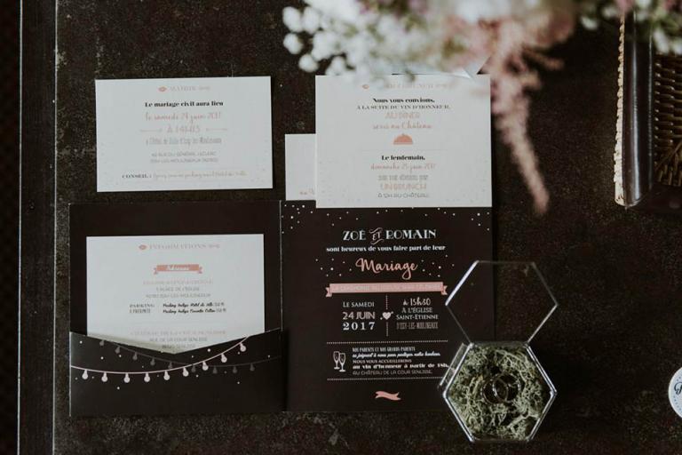 Papeterie de mariage