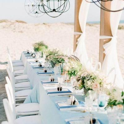 table épurée mariage