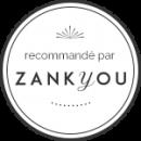 Badge white zankyor