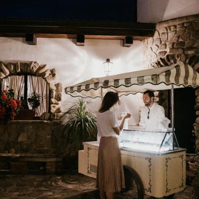 Mariage Italie Chariot de Glace