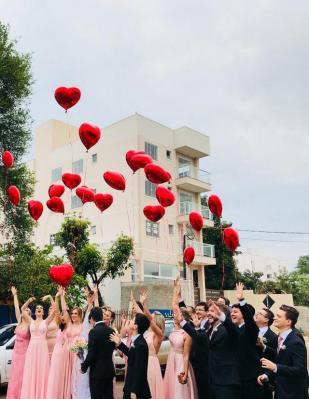 Decoration mariage ballons