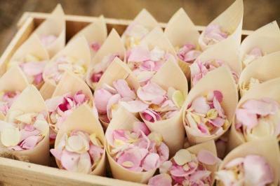 Diy confettis mariage