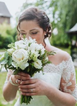 Forme bouquet mariee