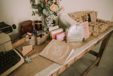 Masking tape decoration mariage