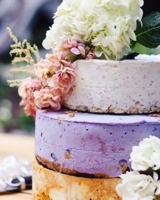 Wedding cake tendance 2017