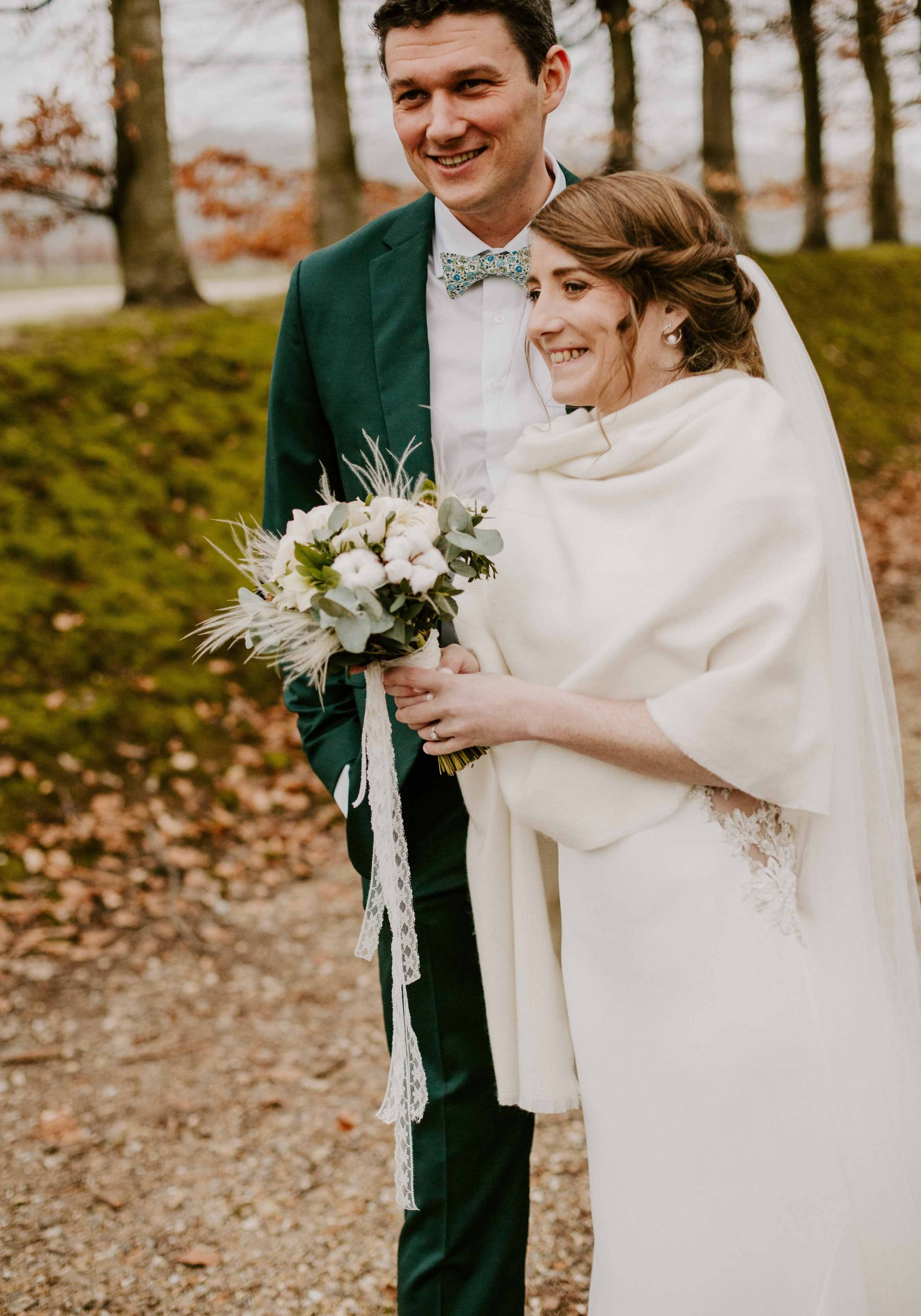 Domaine des Planches Mathieu Marangoni Winter Wedding