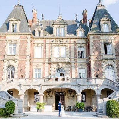 Chateau bouffemont wedding paris france lydia stamps 75
