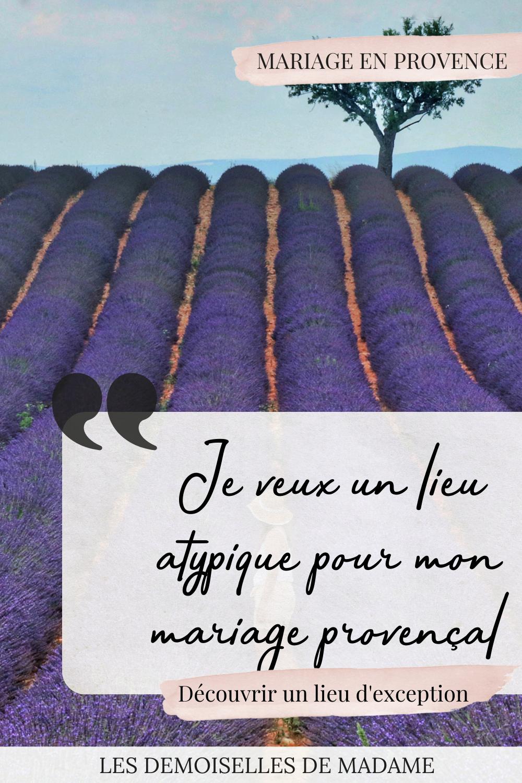 Mariage dans mas de Provence