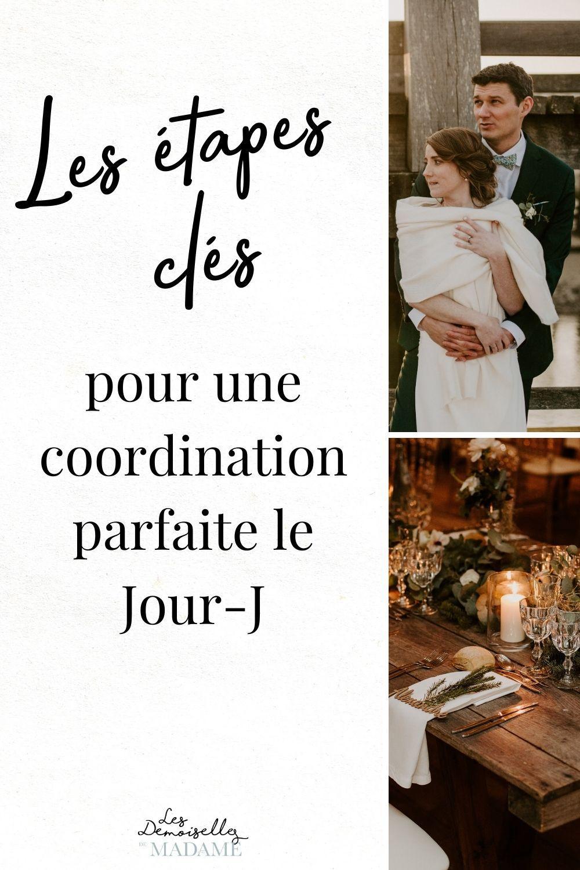 Coordination jour j de mariage 2