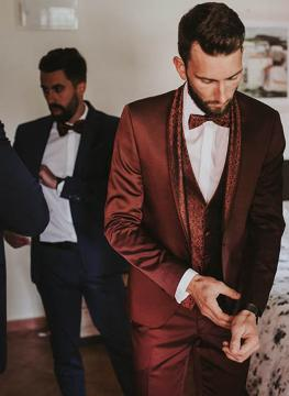 Costume mariage sur mesure atelier na 1