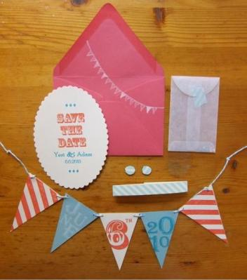 Diy save the date mariage
