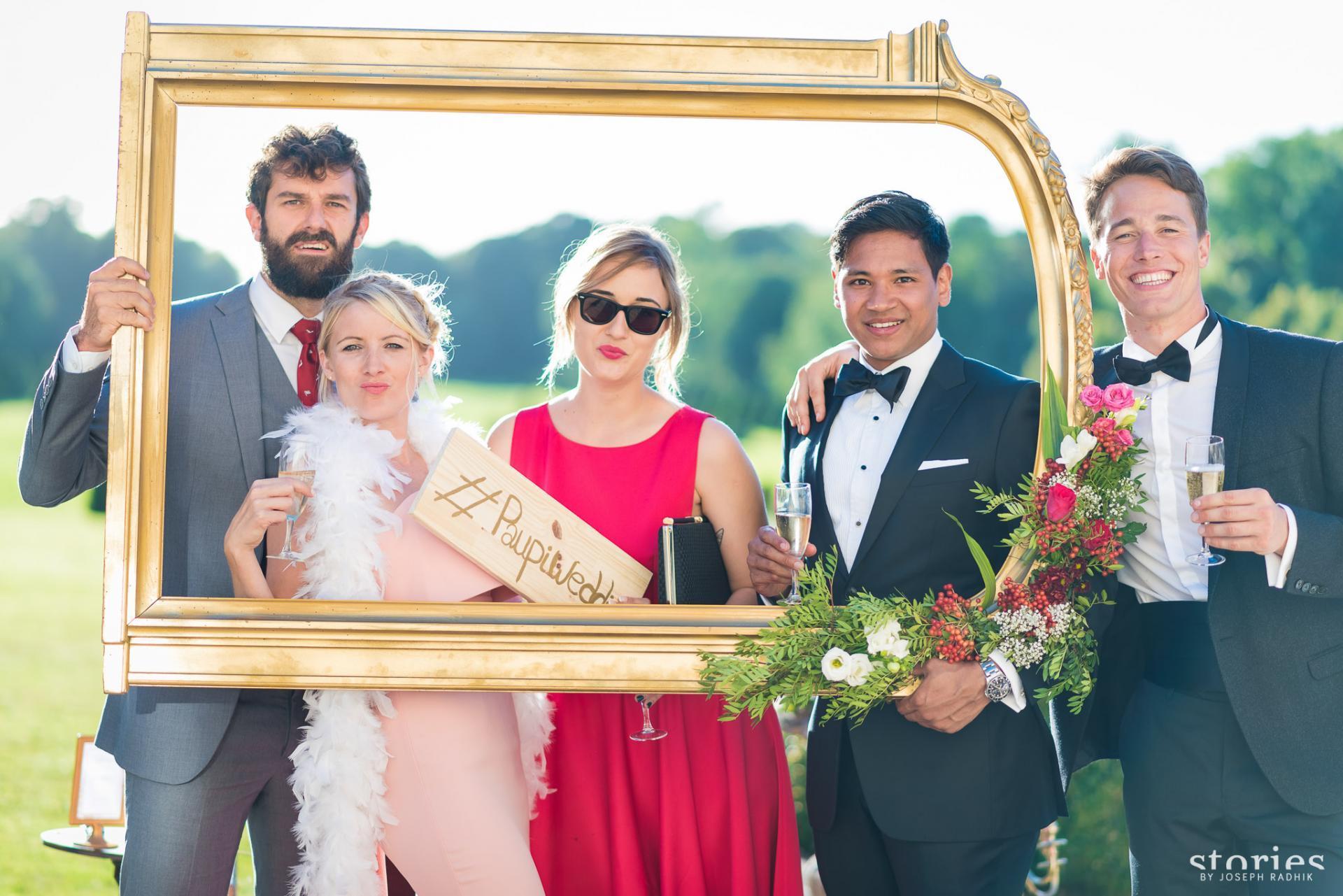 Le hashtag pour un mariage connecté