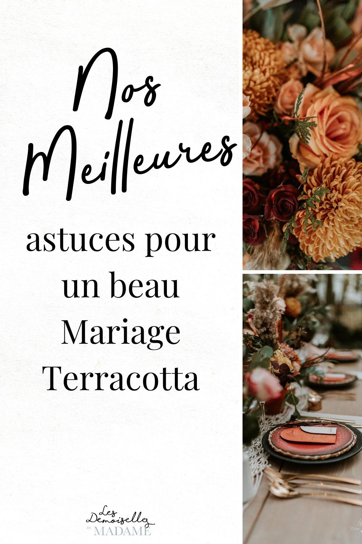 Astuces mariage terracotta