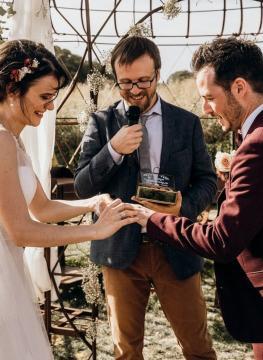 Officiant ceremonie laique mariage