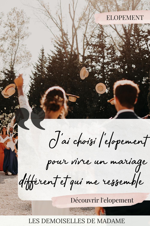 Choisir l'elopement