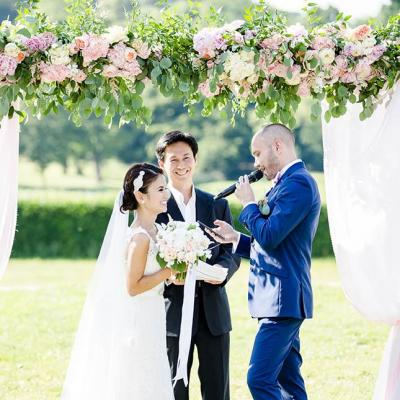 Voeux de mariage - Picture by Lydia Stamps